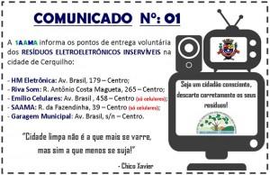 comunicado n°01