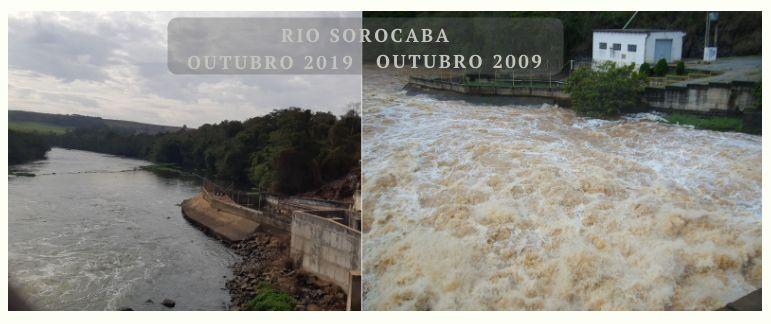 Comparação Volume Rio Sorocaba